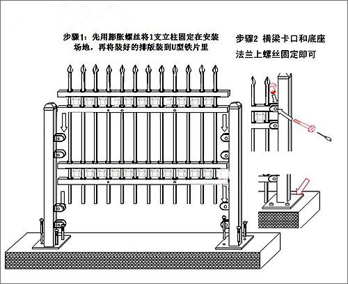 钢方管混凝土结构图